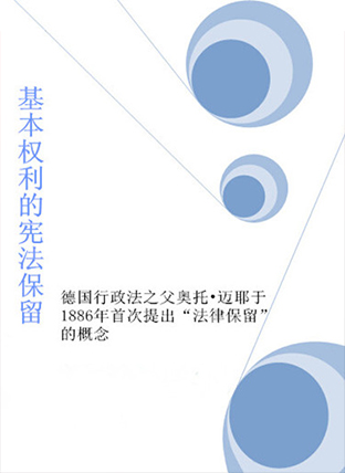 title='基本权利的宪法保留'
