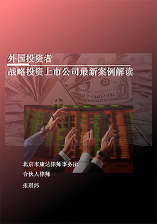title='外国投资者战略投资上市公司最新案例解读'